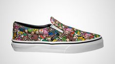 70ea71eb63b2 Nintendo is teaming up with Vans Shoes to release a new line of killer  Nintendo-themed shoes. There s no release date on the line of Nintendo Vans  or a ...