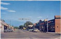 San Jacinto California, Orange Grove, Riverside County, Vintage California, Vintage Photos, Places Ive Been, Street View, City, World
