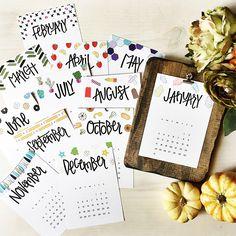 50 невероятно красивых календарей на 2016 год | Say-hi