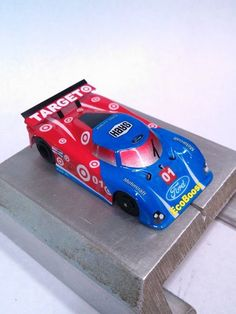 Velochamp2 custom painted Lexan body that fits a 1/64 BSRT or Viper chassis