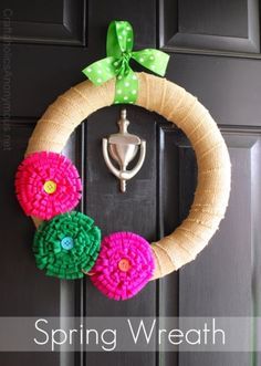 Amazing Spring DIY Flower Crafts