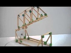 Hydraulic bridge project demonstration - YouTube