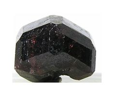 Deep Red Gem Andradite Garnet Gemstone Crystal by FenderMinerals,