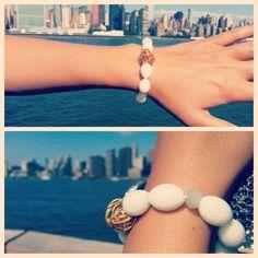 J. Marano Bracelets- White Jade
