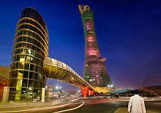 Torch #Tower#Doha #Qatar #قطر #الدوحة #Architecture