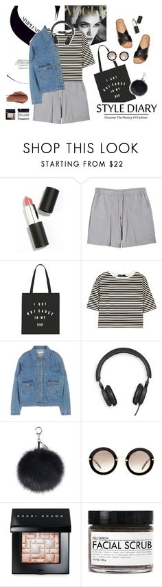 """""""""""It's always harder to be the one who's left behind then the one who leaves."""" -Tamara Ireland Stone, Time After Time."""" by are-you-with-me ❤ liked on Polyvore featuring Sigma Beauty, T By Alexander Wang, TIBI, Bang & Olufsen, H&M, Miu Miu, Bobbi Brown Cosmetics, Fig+Yarrow and Urban Decay"""