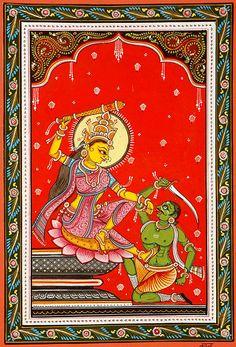 Bagalamukhi the Goddess who seizes the Tongue (Ten Mahavidya Series)