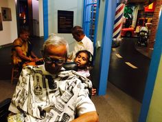 Haircut for grandpa