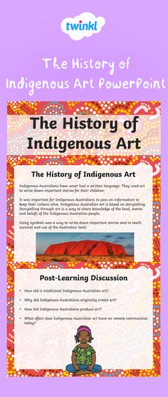 Teach your class about the origins, aspects and significance of traditional Aboriginal art with this Aboriginal Education, Indigenous Education, Aboriginal History, Aboriginal Culture, Indigenous Art, Art Education, Aboriginal Art For Kids, Education Quotes, Student Teaching