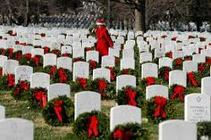 My dad is at rest at Arlington, which does not have enough money to buy wreaths for all graves.  I would love to buy a few wreaths for soldiers!   #NotABox #UPSHappy