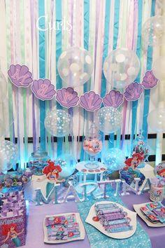 Little Mermaid Birthday Party, Under the Sea, Princess Ariel