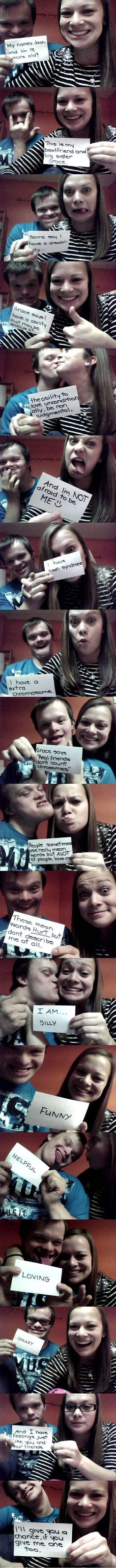 Real Friends Don't Count Chromosomes
