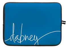 Marine Blue Laptop Sleeve
