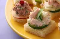 Cucumber-Dill Finger Sandwiches