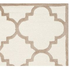 Safavieh Cambridge Collection CAM140P Handmade Ivory and Beige Wool Area Rug, 8 feet by 10 feet (8′ x 10′) #handmade The Safavieh Cambridge Collection is the perfect blend of class and elegance. These rugs bring traditional sophistication to your home. These rugs feature 100% Premium Wool, hand tufted into elegant designs, perfect for your traditional décor. The varying pile heights will add a spark of interest to these rugs. Each rug has a dense, soft pile, and excellent quality, to..