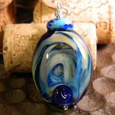 Stunning glass pendant ..... these and more .... www.glassmalarky.com