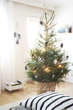 Christmas Tree Winter Christmas, Christmas Trees, Christmas Decorations, Xmas, Holiday Decor, Meaning Of Christmas, Scandinavian Christmas, Happy Holidays, Advent