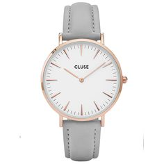 CLUSE-La-Bohème-Rose-Gold-White-Grey-Damenuhr