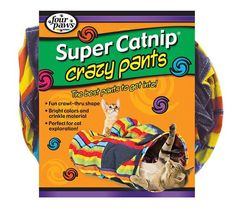 Four Paws Super Catnip Crazy Cat Tunnel Pants Toy >>> Unbelievable cat item right here! : Cat toys