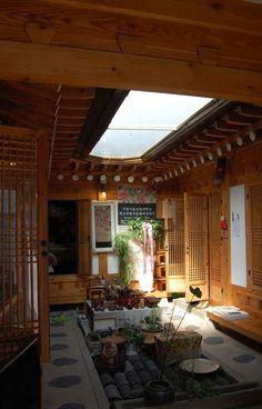 Dream Home Design, My Dream Home, House Design, Traditional Interior, Traditional House, Korean Traditional, Asian Architecture, Interior Architecture, Patio Central
