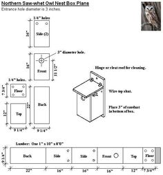 f38b23ba592691ffd607acc8b6df9a1f bird house plans owl box screech owl house plans how to build a screech owl box owl,Goldfinch House Plans