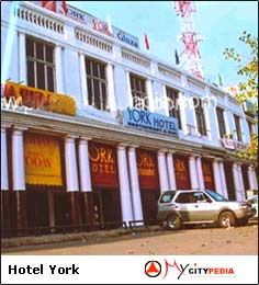 York 3 Star Hotel in Central Delhi