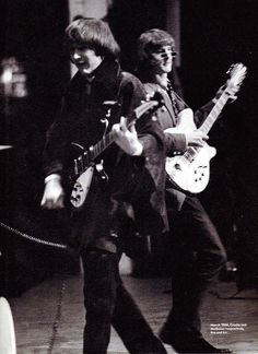 David Crosby and Roger McGuinn (The Byrds)
