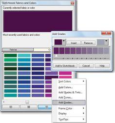 EQ7 color gradation