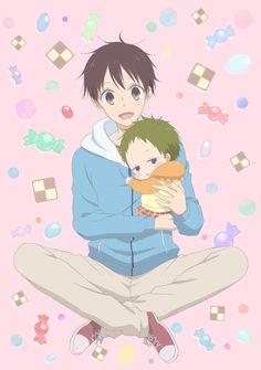 Primera imagen promocional del Anime Gakuen Babysitters.