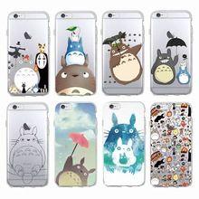 Cute Totoro Spirited Away Ghibli Miyazaki Anime Soft Clear Phone ...
