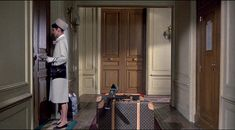 Louis Vuitton Luggage circa Audrey Hepburn in Charade
