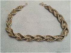 double spiral necklace
