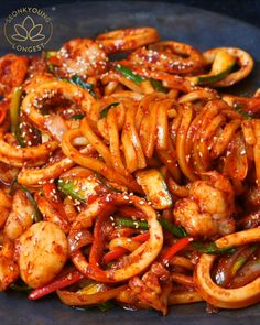 Shrimp Recipes For Dinner, Prawn Recipes, Shellfish Recipes, Easy Pasta Recipes, Grilled Shrimp Recipes, Seafood Recipes, Asian Recipes, Cooking Recipes, Spicy Garlic Shrimp