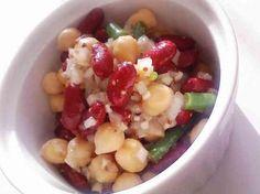 豆サラダの画像