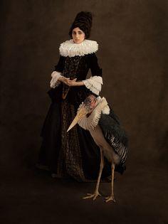 Красивые портреты Вдохновляют фламандской живописи Рембрандта - My Modern Met