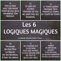 Quotes and inspiration QUOTATION - Image : As the quote says - Description les 6 logiques magiques - Atmosphère Citation Sharing is love, sharing is everything Positive Mind, Positive Attitude, Positive Thoughts, Positive Quotes, Quote Citation, French Quotes, Some Words, Positive Affirmations, Mantra