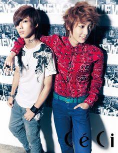 Kwang Min and Young Min – Ceci Magazine