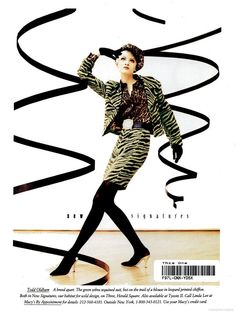 New York Magazine - 1992 August 24 - TOD OLDHAM ad by MACYS