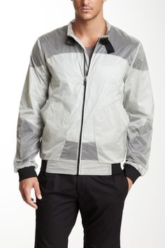 Adidas SLVR Colorblock Nylon Jacket  Jacket #ZipclosureMen #Outerwear