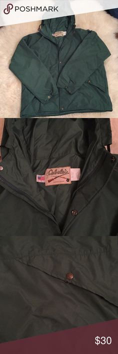 Cabelas Jacket Green XXXL Cabelas Jacket Green XXXL Great Condition Cabelas Jackets & Coats Lightweight & Shirt Jackets