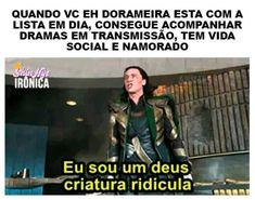 Read 33 from the story Marvel Memes Brasil by MarvelBR (Marvel Comics BRasil) with reads. Memes Marvel, Avengers Memes, Funny Images, Funny Pictures, Mundo Marvel, Drama Memes, Pinterest Memes, Loki, Bts Memes