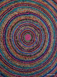 These rugs are handmade by Ugandan women.