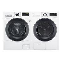 WM1388HW-DLEC888W Washer and Dryer Set