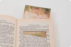 Upcycle a book into a photo album.