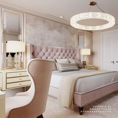 Image uploaded by Find images and videos on We Heart It - the app to get lost in what you love. Home Room Design, Luxury Bedroom Design, Home, Bedroom Makeover, Home Bedroom, Luxurious Bedrooms, Simple Bedroom, Girl Bedroom Decor, Classic Bedroom