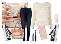 """""""Sweater Weather!!! 😍😍😍😍"""" by mercedes-may-mccoy ❤ liked on Polyvore featuring Alexander McQueen, Christian Dior, LORAC, Sonix, Vans, Anine Bing and Juicy Couture"""
