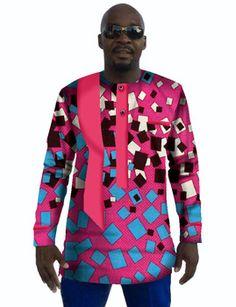 Custom Made Men Dashiki Long Sleeve Africa T Shirt African Style Printed Tops…