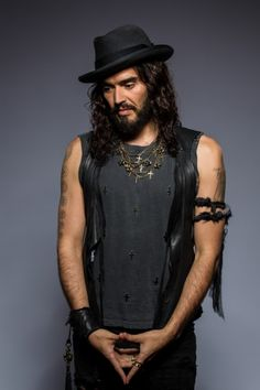 Russell Brand. Such an interesting person.