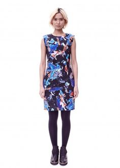 Colorful printed dress Minimarket aw14