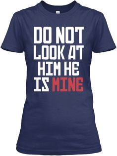 "***GET MATCHING ONE FOR YOUR WIFE TOO!   http://teespring.com/she-is-mine     ***HOW TO ORDER?  1. Select style and color 2. Click ""Buy it now"" 3. Select size and quantity 4. Enter shipping and billing information 5. Done! Simple as that!  TIP: SHARE it with your friends, order together and save on shipping.  Need Help Ordering?Call Support (1-855-833-7774) Monday-Friday  Email: support@teespring.com"